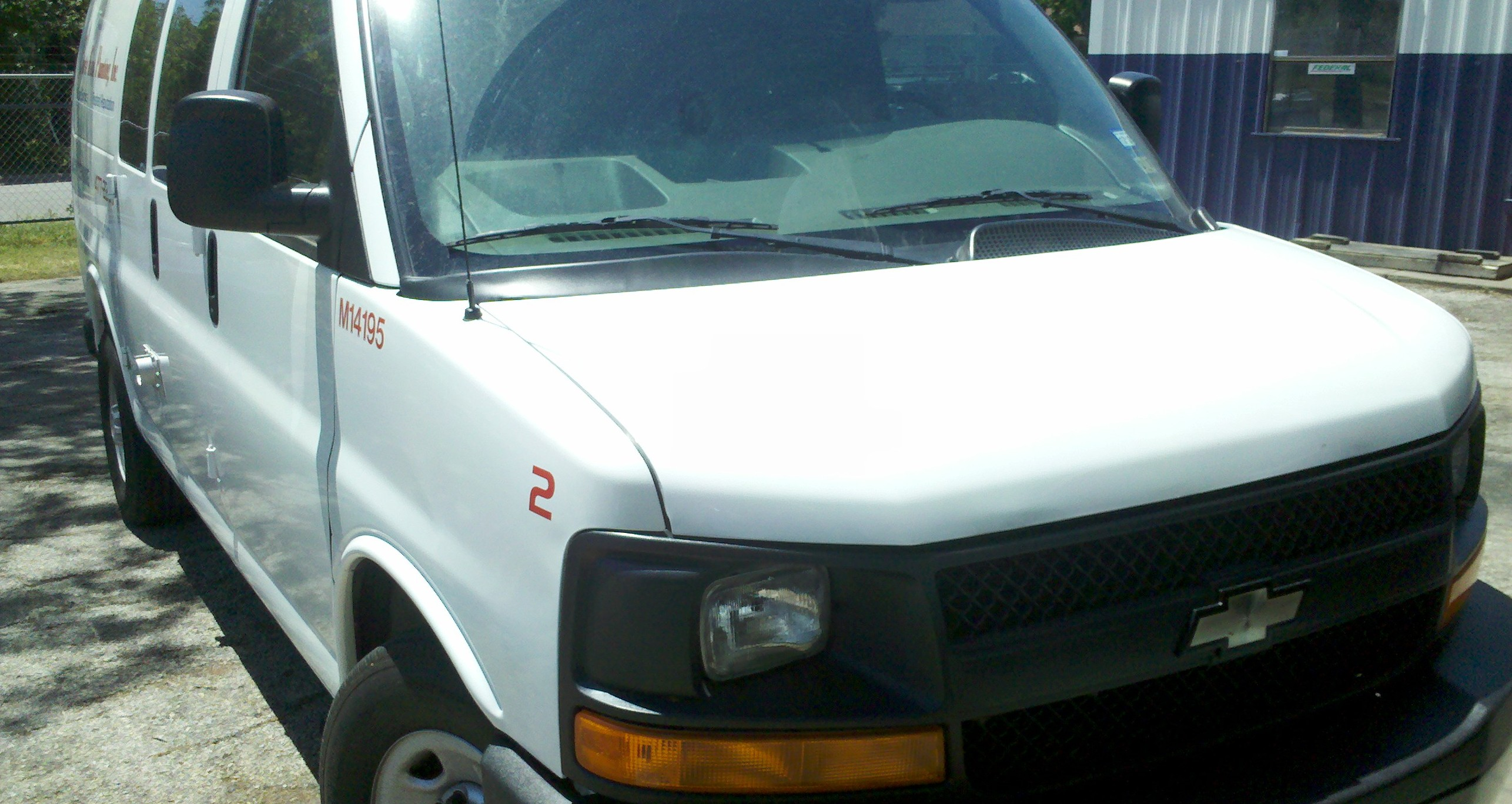 Natural Gas CNG Fleet Van