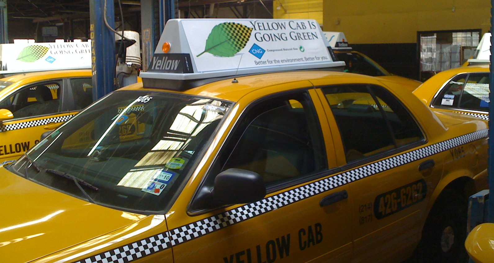 Natural Gas CNG Taxi